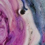 roze-paars kleurenmengsel als voorbeeld van woontrends 2018